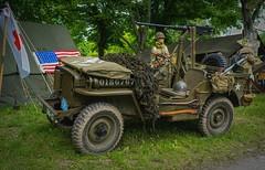 Jeep (try...error) Tags: sony a7 a7iii 24105 second world war museum reenactment machine gun historic us army