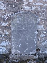 Photo of Memorial to Thomas Crichton and James Cowper