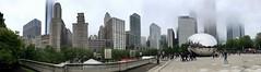 Chicago (NettyA) Tags: city panorama usa chicago skyline buildings illinois northamerica thebean appleiphone8 millenniumpark