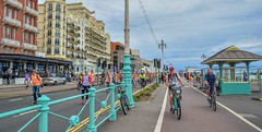 Brighton Bikers (Dave Cool Britannia) Tags: worldnakedbikeride wnbr brighton brightonwnbr naked nude cyclist protest