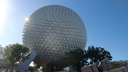 Florida - Orlando: EPCOT's landmark - Spaceship EARTH