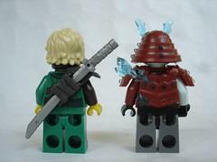70671 - figs back (fdsm0376) Tags: lego set review 70671 ninjago lloyd journey blizzard warrior wolf kitsune