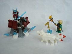 70671 - all (fdsm0376) Tags: lego set review 70671 ninjago lloyd journey blizzard warrior wolf kitsune