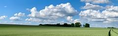 Wunderschöne Heimat (mrburton75) Tags: schön motiv postkarte landschaft landscape weite blau blue grün green cloud clouds wolken bergischesland deutschland germany nrw kleinehöhe elberfeld wuppertal