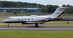 N710CF (PrestwickAirportPhotography) Tags: egpk prestwick airport gulfstream 3 n710cf