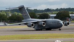 93-0603 (PrestwickAirportPhotography) Tags: egpk prestwick airport usaf united states air force boeing c17a globemaster 930603 wright patterson reserve command