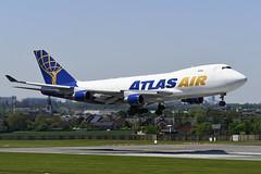 N446MC Boeing B747-4B5F EBBR 14-05-19 (MarkP51) Tags: brussels airplane airport belgium image aircraft airliner bru zaventem ebbr planr markp51 sunshine nikon sunny d500 d7200 nikon24120f4gvr nikon70200f4gvr nikonafp70300fx boeing gti jumbojet b747 atlasair 5y b747f b7474b5f n446mc cargo freighter