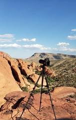 A pic of shooting a pic (smiller_rrc) Tags: redrockcanyon camera tripod