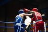 50302 - Hook (Diego Rosato) Tags: nikon d700 tamron 2470mm rawtherapee boxe boxing pugilato boxelatina ring match incontro arbitro referee pugno punch hook gancio