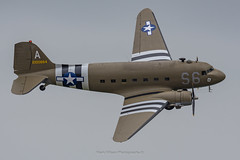 C-47A Aces High N147DC (Mark_Aviation) Tags: c47a aces high n147dc c47 dc3 dakota dakotas c53 aircraft iwm duxford daks over normandy