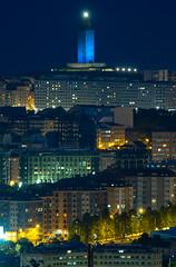 """TORRE AZUL 3"" 14 Junio 19 (Emilio Rodríguez Álvarez) Tags: torre hercules coruña galicia galiza nocturna"