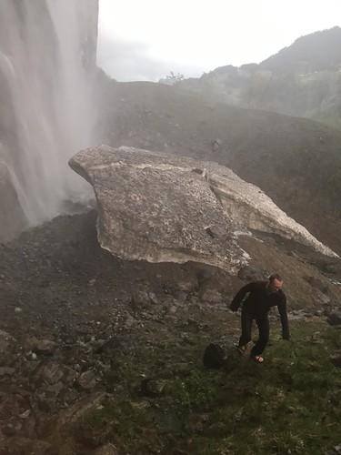 Bottom of Staubach Falls