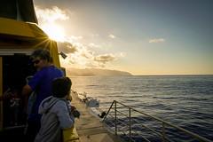 The arrival (A.K. 90) Tags: cloudssunsetsstormssunrise sunlight sun sonnenuntergang sonnenschein sonnenstrahl sonnenlicht sonne holiday urlaub travel lagomera kanaren canary island insel magic catchthemoment sonyalpha6300 e18135mm3556oss