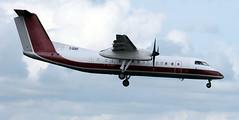 C-GIXF (PrestwickAirportPhotography) Tags: egpk prestwick airport bombardier dash 8 cgixf