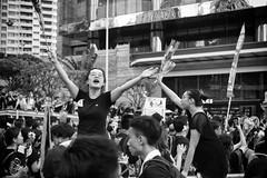 (von Calven Lee) Tags: blackandwhite hongkong leica leicam10p protest summicron 50mm 11817