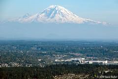 Mt. Rainier (Susie Butler) Tags: flight seattle washingtonstate washington flying mtrainier mountain mountains