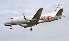 Air Leap SE-LJT, OSL ENGM Gardermoen (Inger Bjørndal Foss) Tags: seljt airleap saab 340 osl engm gardermoen