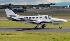 N22CG (PrestwickAirportPhotography) Tags: egpk prestwick airport cessena 441 conquest n22cg