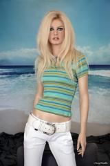 NEW 2019 Brigitte Bardot lifesize silicone sculpture (Terry Minella) Tags: bb brigittebardot celebrity famous icon sexy sculpture lifesize silicone photo portrait studio 60s blonde rootstein