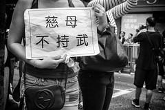 (von Calven Lee) Tags: leica blackandwhite hongkong 50mm protest summicron 11817 leicam10p