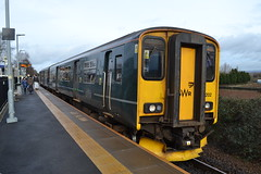 Great Western Railway Sprinter 150202 (Will Swain) Tags: exeter st davids station 12th january 2019 south west city train trains rail railway railways transport travel uk britain vehicle vehicles england english europe gwr first group newcourt great western sprinter 150202 class 150 202