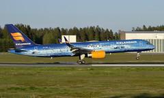 Icelandair TF-FIR, OSL ENGM Gardermoen (Inger Bjørndal Foss) Tags: tffir icelandair boeing 757 osl engm gardermoen