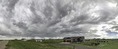 Unusual Sky (northern_nights) Tags: cloudscape skyscape unusualclouds clouds cheyenne wyoming pano panorama morning showers rain unusualsky