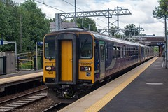 Northern 153378 (Mike McNiven) Tags: arriva railnorth northern dmu diesel multipleunit rochdale blackburn manchester clitheroe victoria dogbox sprinter supersprinter