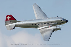 Swissair_DC-3_N431HM_20190615_Fassberg-1 (Dirk Grothe | Aviation Photography) Tags: swissair dc3 n431hm berlin airlift fasberg
