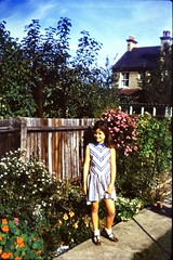 531_DebbieWright1971 (wrightfamilyarchive) Tags: debbie wright summer 1971 1970s 70s seventies beckenham garden cromwell road