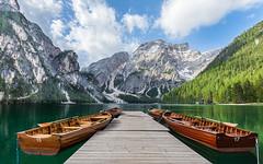 Der Pragser Wildsee (jürgenmilnik) Tags: italien italia dolomiten dolomiti pragser wildsee lago di braies seekofel