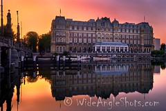 Amstel Hotel at Daybreak, Amsterdam #Amsterdam #BlueHour #reflections #reflection #longexposure #daybreak #sunrise #dawn #color #colorful #river #Amstel #boats #hotel #bridge #noperson #quiet #earlymorning (WideAngleShots) Tags: ifttt instagram amstel hotel daybreak amsterdam bluehour reflections reflection longexposure sunrise dawn color colorful river boats bridge noperson quiet earlymorning