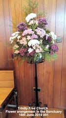 Trinity Free Church - Flower arrangement in the Sanctuary 16th June 2019 001 (D@viD_2.011) Tags: trinity free church flower arrangement sanctuary 16th june 2019