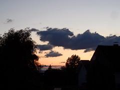 Sonnenuntergang (onnola) Tags: koblenz arzheim rheinlandpfalz deutschland germany rhinelandpalatinate sommer summer himmel sky wolken clouds sonnenuntergang sunset