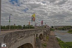 Pont Wilson - Tours, Centre - Val de Loire, France (leblanc_julian) Tags: tours loire loirevalley pont bridge river bateau barque water lama streetart art graff graffiti bird moineau guinguette flags drapeau colors lights dxo lightroom streets city touraine plume placeplumerau sky bluesky brother family relex mirror canon canoneos 700d eos700d bâtiment old oldtown clouds hdr faded beauty nature green landscape france centre centrefrance regioncentre ressourcing promenade bordsdeloire quaisdeloire wilson pontmirabeau rocks leaves oiseau tourssurloire