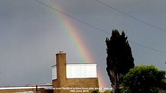 Rainbow over Hartford school from play area (Up close) 15th June 2019 003 (D@viD_2.011) Tags: rainbow over hartford school from play area close up 15th june 2019
