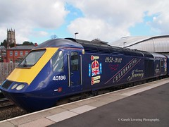 43186 #2 at Newport Station (Gareth Lovering Photography 5,000,061) Tags: trains railways locomotive cardiff swansea newport wales hst 125 landore tmd garethloveringphotography