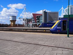 43012 & 43087 at Cardiff Central Station (Gareth Lovering Photography 5,000,061) Tags: trains railways locomotive cardiff swansea newport wales hst 125 landore tmd garethloveringphotography