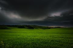 Dark Skies (axlrose2112) Tags: pentaxart scotland nature weather clouds green landscape travel escape