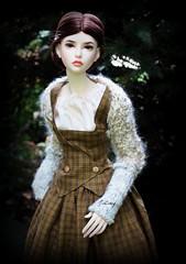 A Walk in the Woods (wizgerg3) Tags: dollshe diana dollstown17 outlander rachel