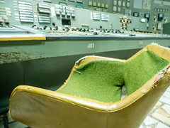 LR Chernobyl 2019-5310836 (hunbille) Tags: birgitteukraine20196lr ukraine chernobyl exclusion zone exclusionzone radiation nuclear disaster 1986 pripyat chnpp сhеrnоbуl nuсlеаr роwеr рlаnt сhеrnоbуlnuсlеаrроwеrрlаnt control room controlroom reactor3 reactor 3 chair