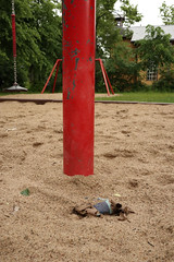 ... on the playground 3 ... (mona_dee) Tags: playground red