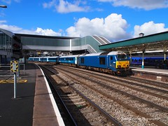 67002 at Newport Station (Gareth Lovering Photography 5,000,061) Tags: trains railways locomotive cardiff swansea newport wales hst 125 landore tmd garethloveringphotography