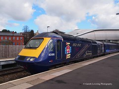 43186 #1 at Newport Station (Gareth Lovering Photography 5,000,061) Tags: trains railways locomotive cardiff swansea newport wales hst 125 landore tmd garethloveringphotography