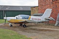 G-CCZA SOCATA MS.894 Rallye Minerva 220 Sturgate  EGCS Fly In 02-06-19 (PlanecrazyUK) Tags: gccza socatams894rallyeminerva220 sturgate egcs flyin 020619