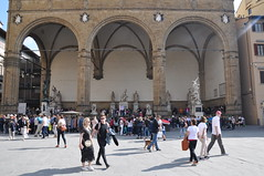 Loggia dei Lanzi (Ryan Hadley) Tags: piazzadellasignoria piazza square florence italy europe worldheritagesite loggiadeilanzi loggia sculpture art renaissance