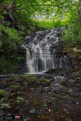 Lodge Waterfall ( Portrait ) (Lancashire Photography.com) Tags: white coppice lodge waterfall lancashire photography