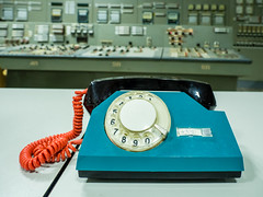LR Chernobyl 2019-5310872 (hunbille) Tags: birgitteukraine20196lr ukraine chernobyl exclusion zone exclusionzone radiation nuclear disaster 1986 pripyat chnpp сhеrnоbуl nuсlеаr роwеr рlаnt сhеrnоbуlnuсlеаrроwеrрlаnt control room controlroom reactor3 reactor 3 telephone