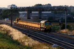 66514 bbb Harrowden Jct 140718 D Wetherall (MrDeltic15) Tags: freightliner class66 66514 harrowdenjunction midlandmainline