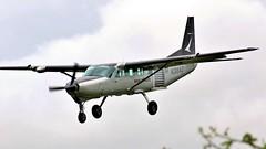 N208AD Cessna 208B Grand Caravan (BIKEPILOT, Thx for + 5,000,000 views) Tags: n208ad cessna 208b grandcaravan gloucestershireairport egbj gloucestershire airport aerodrome airfield uk england britain aircraft aeroplane aviation flight flying landing parachuting turboprop